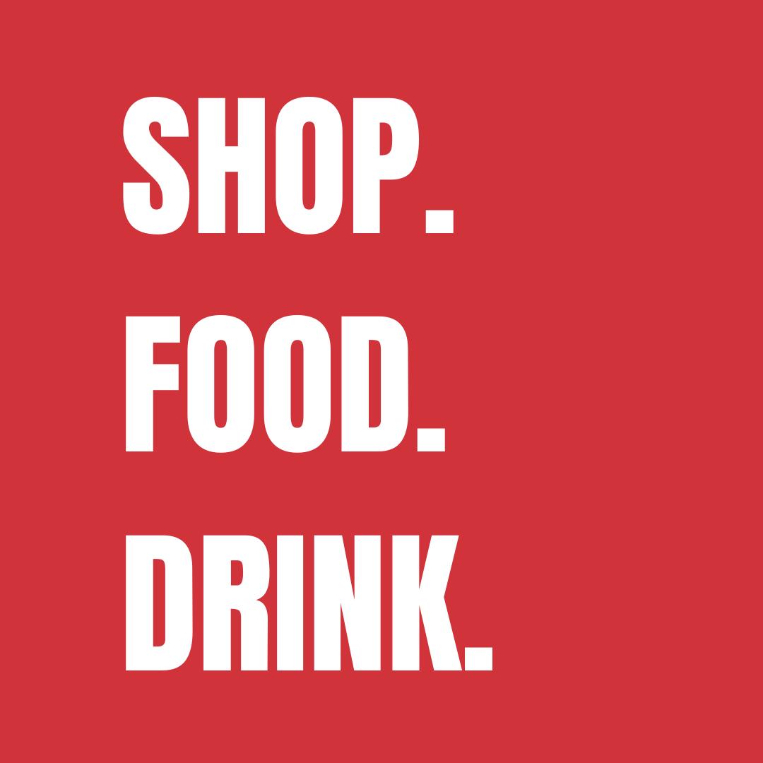 Web Button: Shop. Food. Drink.