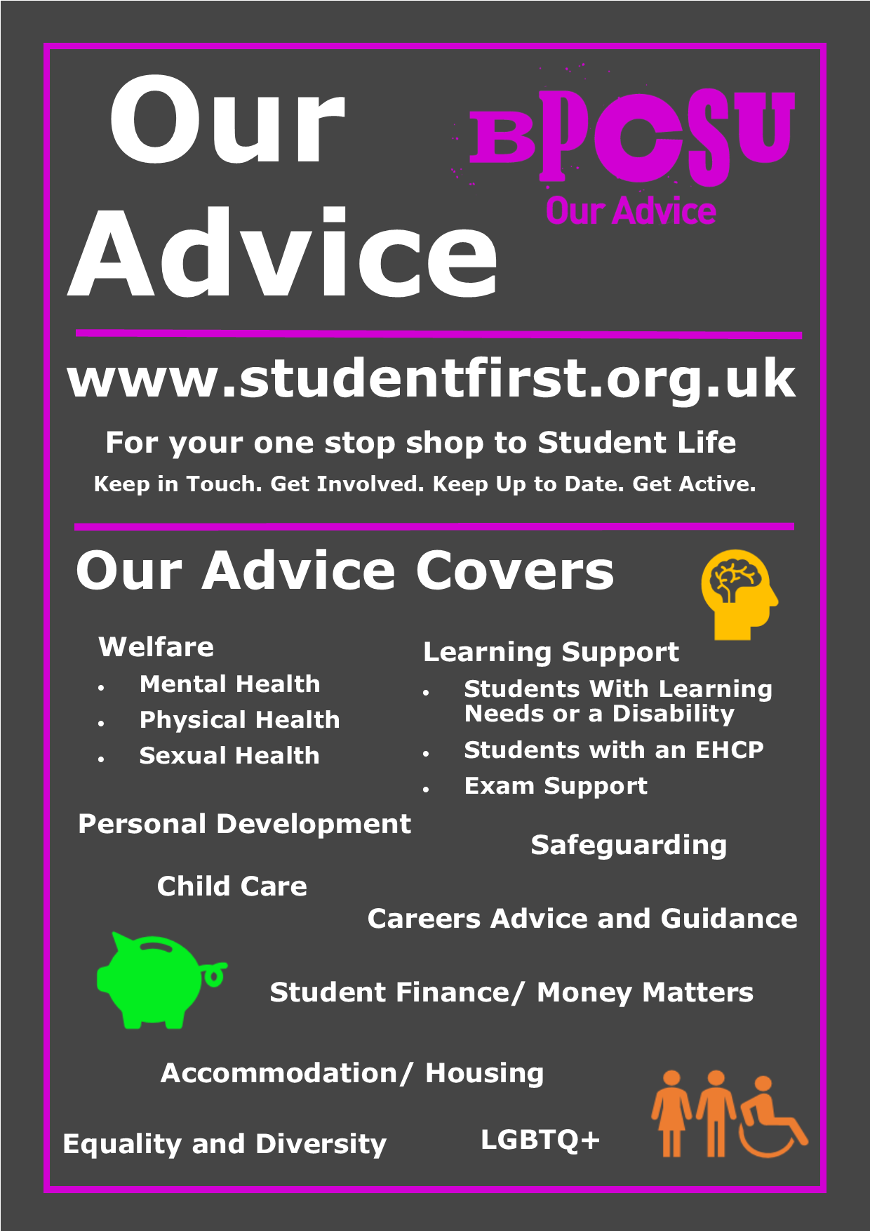 Our Advice Poster