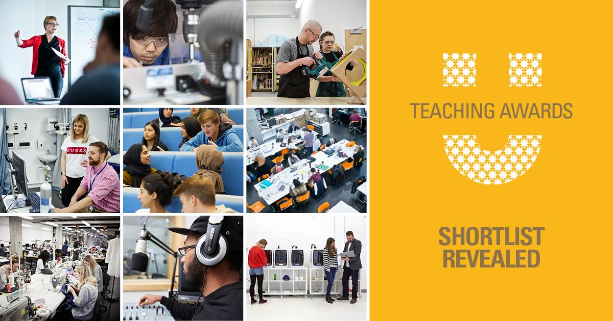 Teaching Awards 2020 Shortlist