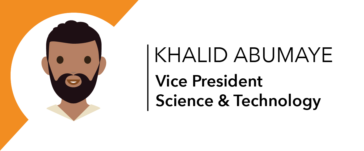 Khalid Abumaye - Vice President Science & Technology