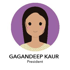 Gagandeep Kaur - President