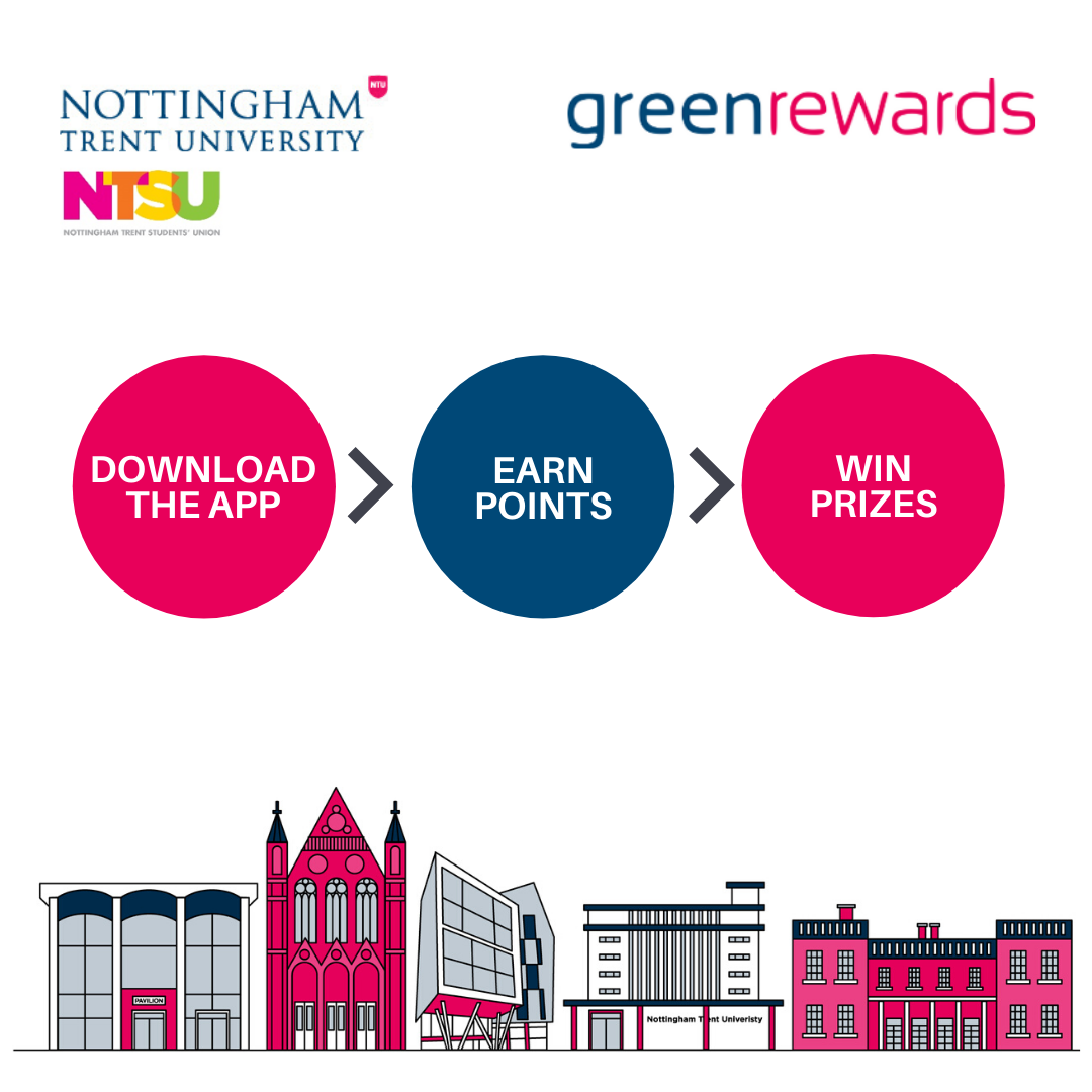 Green Rewards Download the app, earn points, win prizes