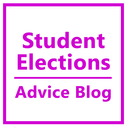 Student Elections, Advice Blog Button