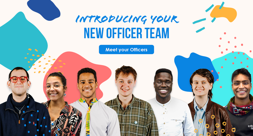 Introduction your new officer team. Meet your Officers.