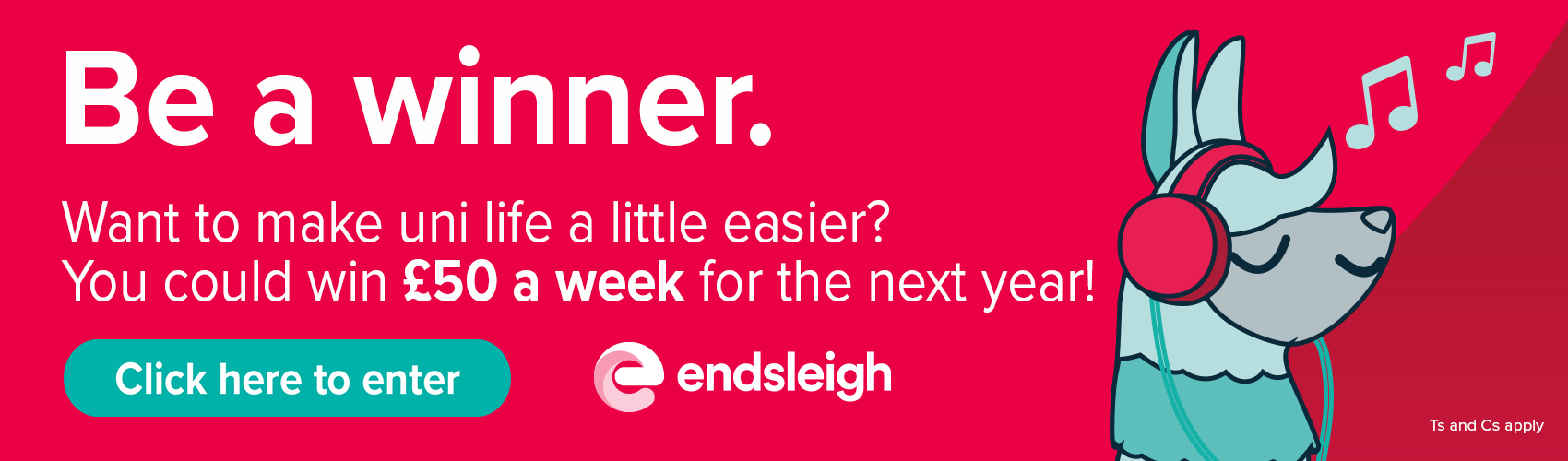 Check out this great competition from Endsleigh