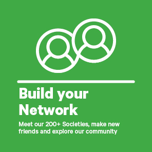 Build your Network followed by Meet our 200+ Societies