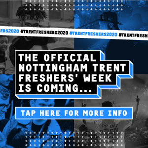 The official Nottingham Trent Freshers' Week is coming. Tap here for more info
