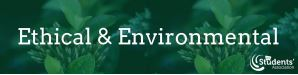 Ethical and Environmental Logo