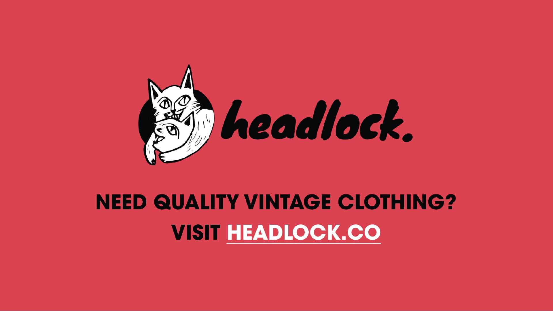 headlock vintage clothing