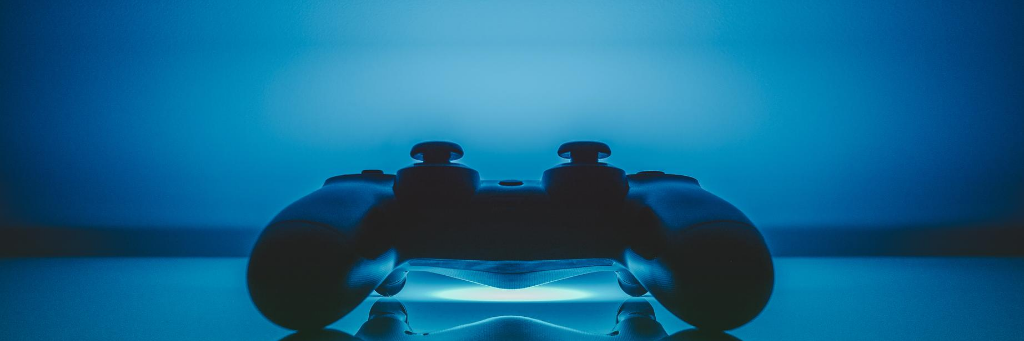 Play station Controller with up lighting