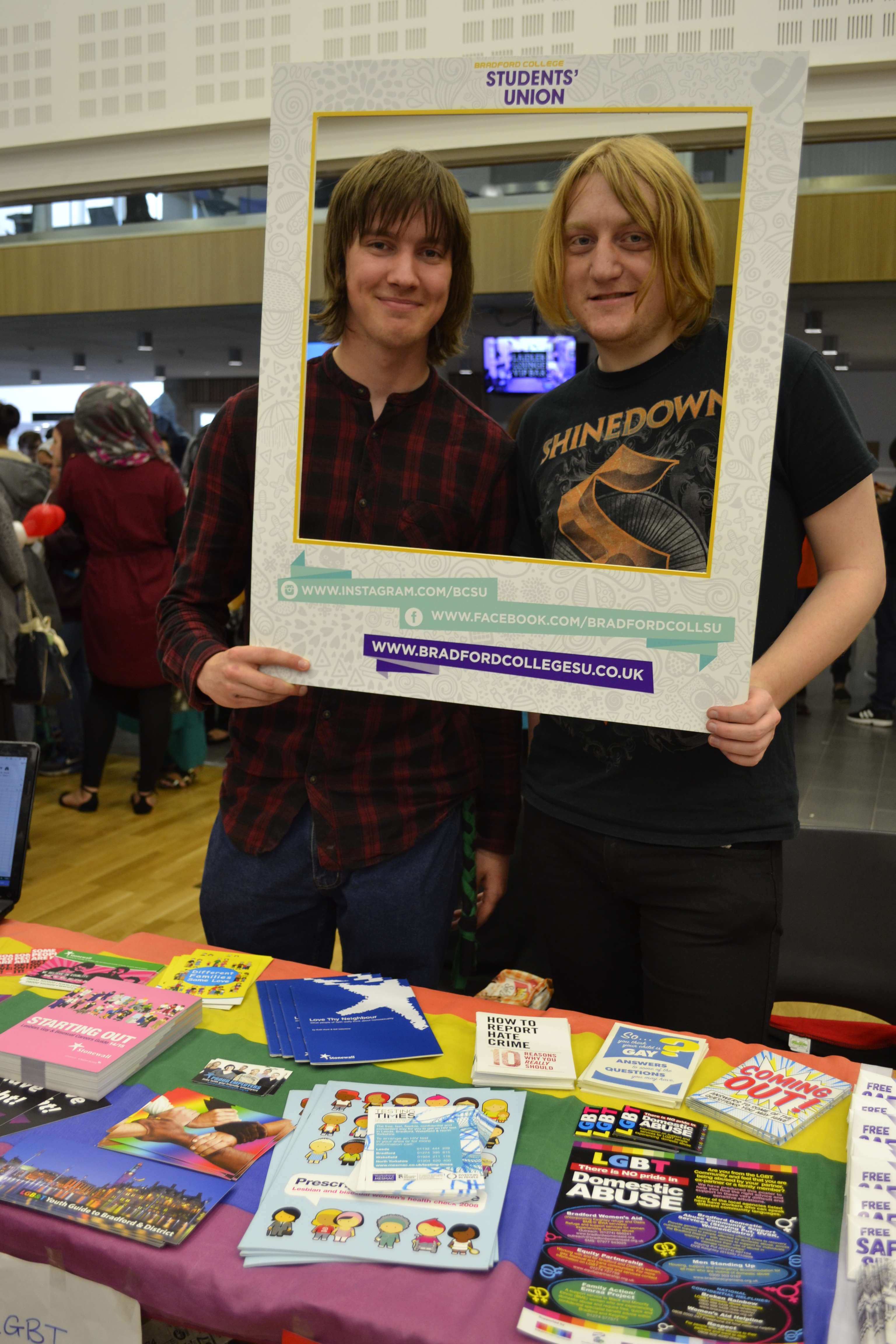 LGBT+ Freshers' Fair 2015 Connie