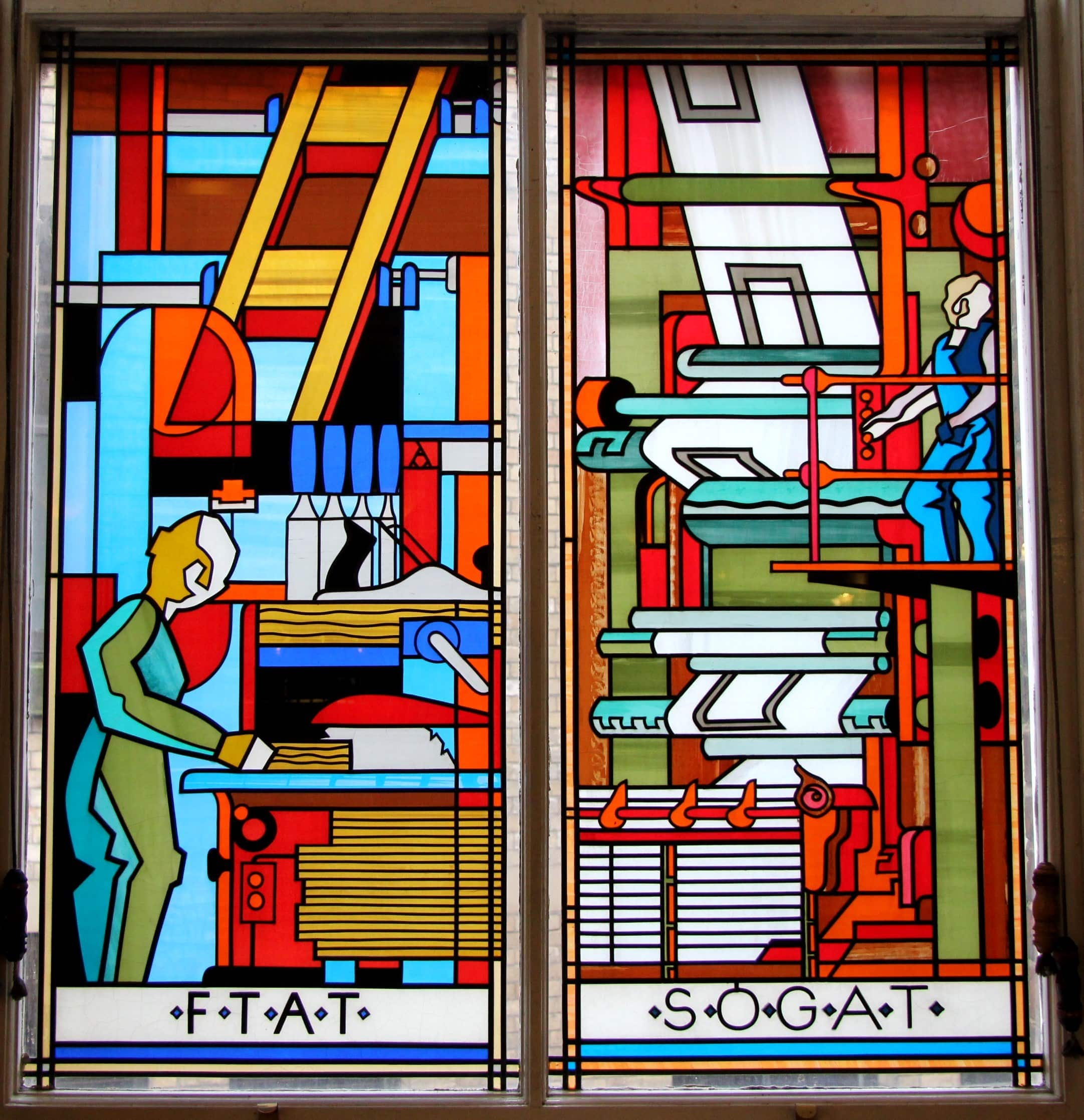 Alf Morris Stained Glass Window Competition At University Of