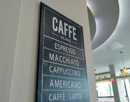 Café / Coffee Menu