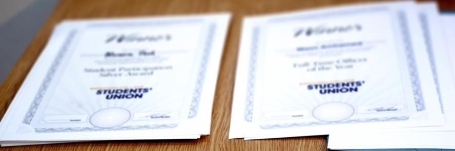 Winner certificates 2016