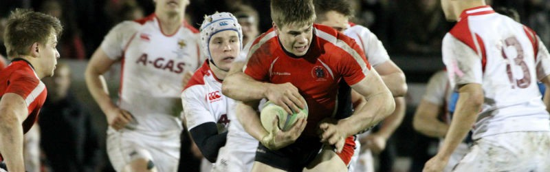 Image of students playing Varsity rugby