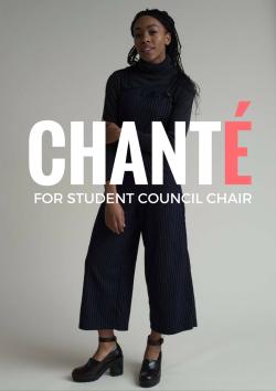 Chanté Joseph - Chair of Student Council