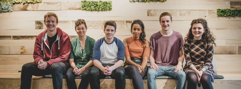 Bristol SU's full-time elected officer team 2016-17