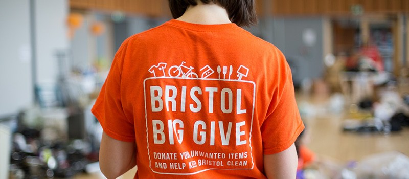 Bristol Big Give Volunteer