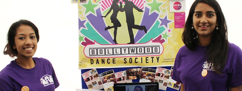 Bollywood dance society at Welcome Fair