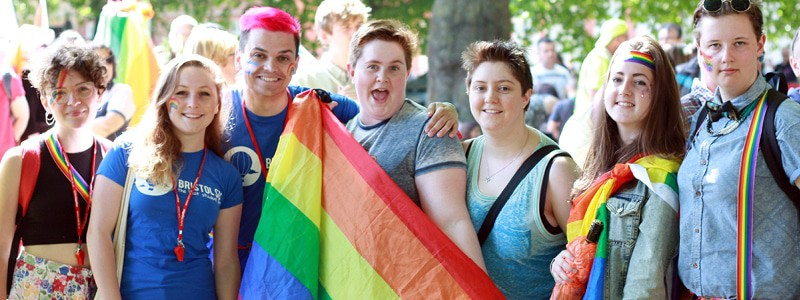 students attend Pride 2015