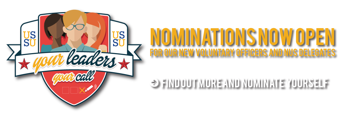 Nominations are now open for voluntary officers and NUS delegates