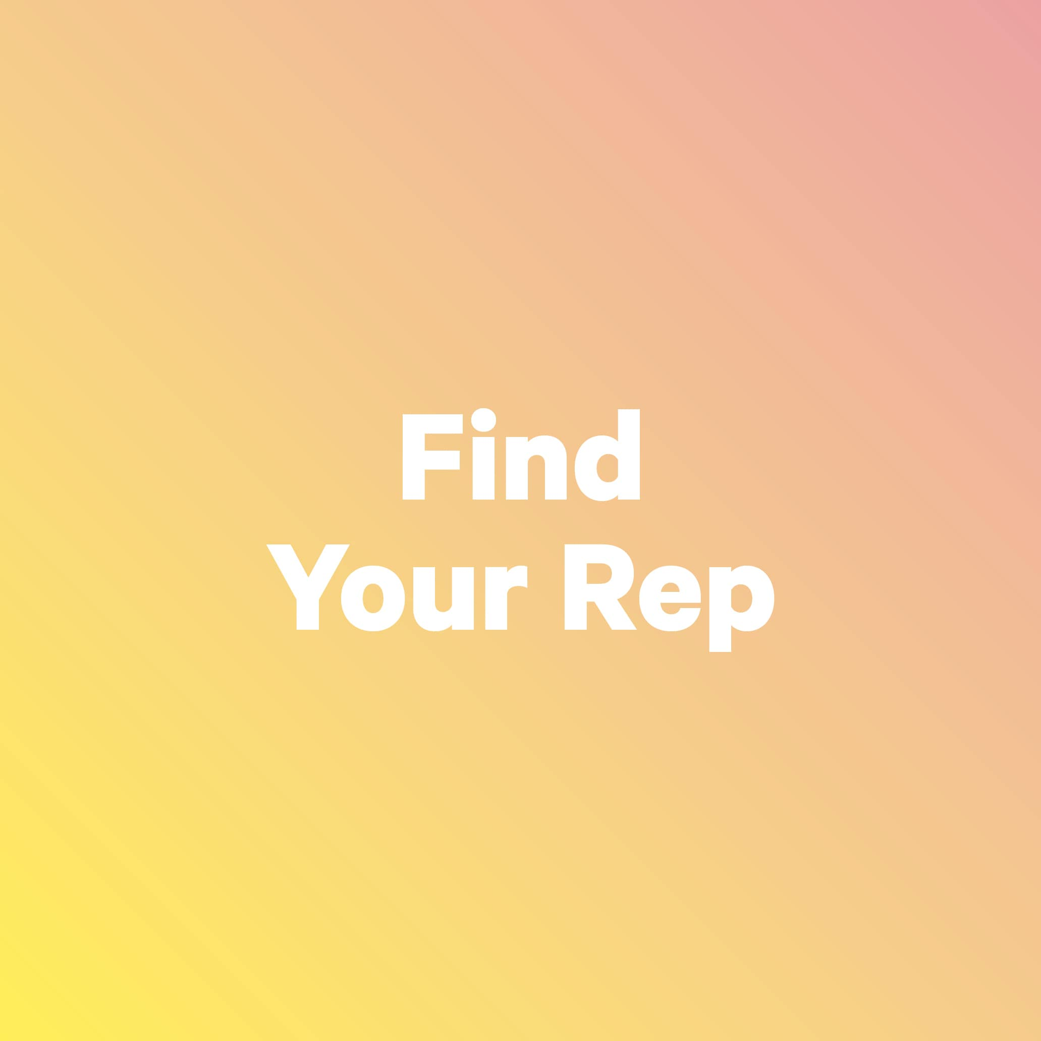 Find your rep