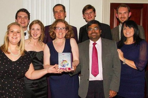University team at Bristol Pride Awards