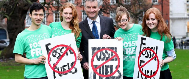 Trinity College Dublin divest-invest