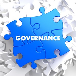 Bigstock governance on blue puzzle  85275113