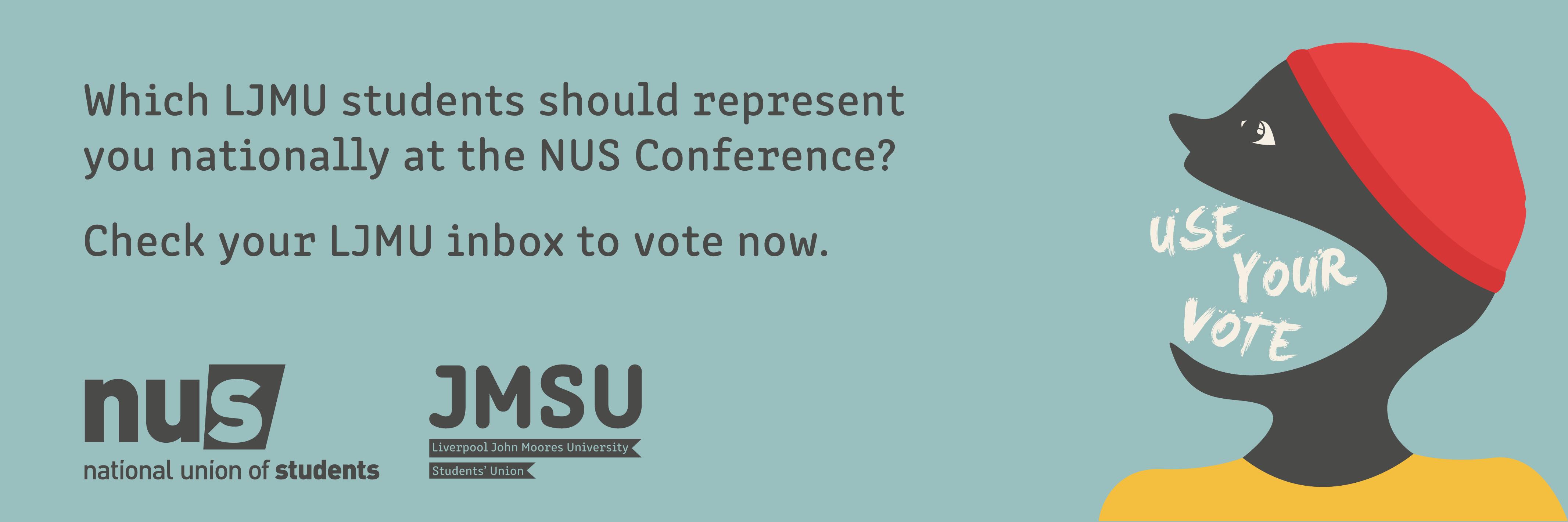 Nus del vote website banner