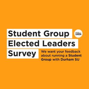 Student group leaders survey tile