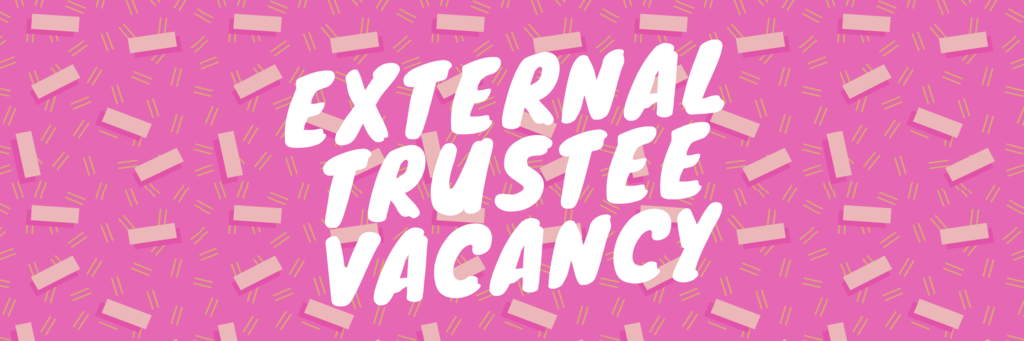 External trustee vacancy