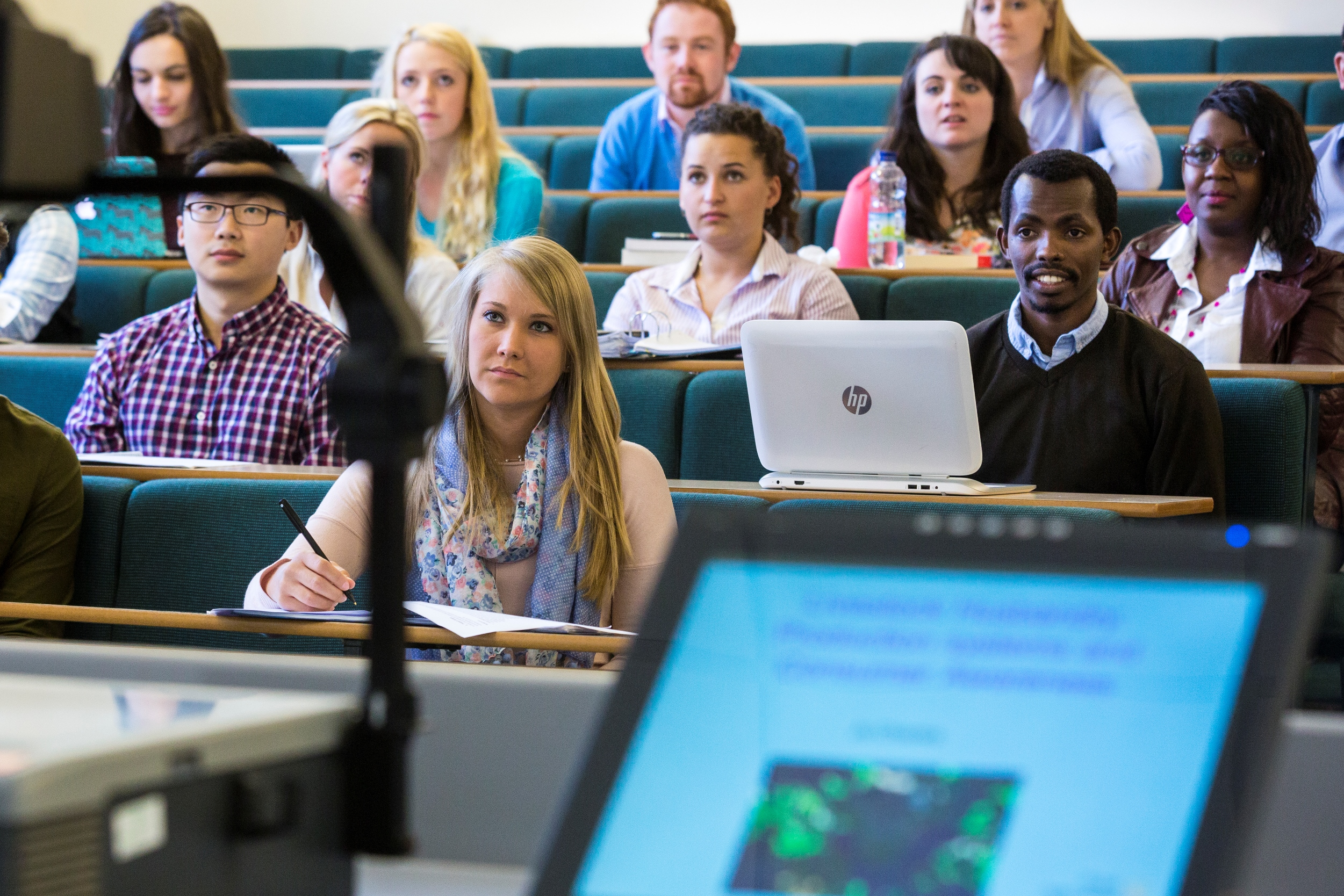 Students in lecture   rau