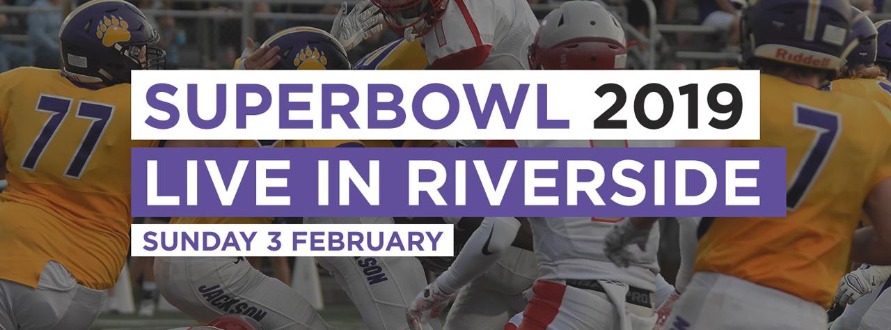 Super bowl homepage