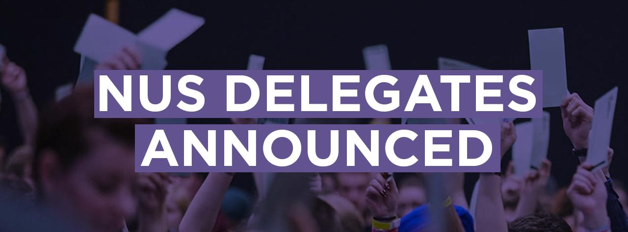 Nus delegates homepage