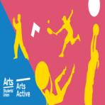 Arts active social media branding facebook group banner