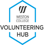 Volunteering hub logo colour
