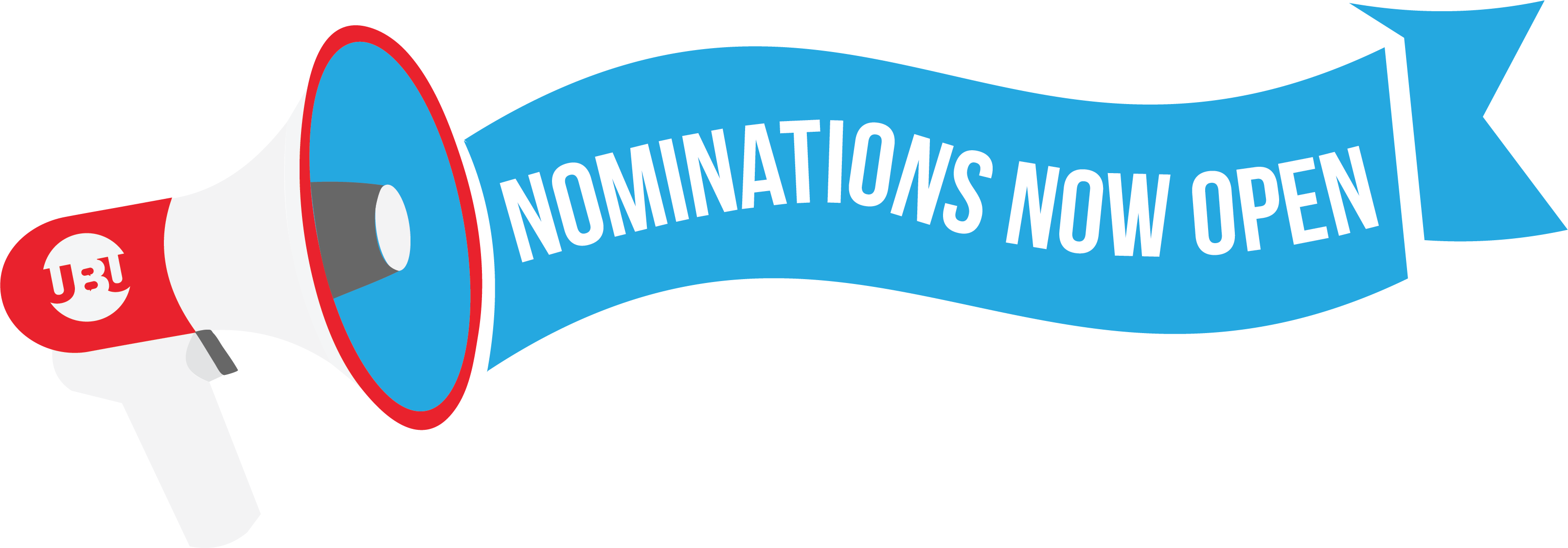 Nominations now open banner