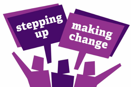 Stepping up making change 444 x 296