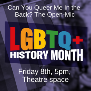 Can you queer me in the backthe open mic