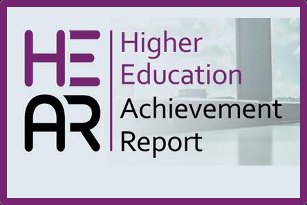 Higher education achievement report