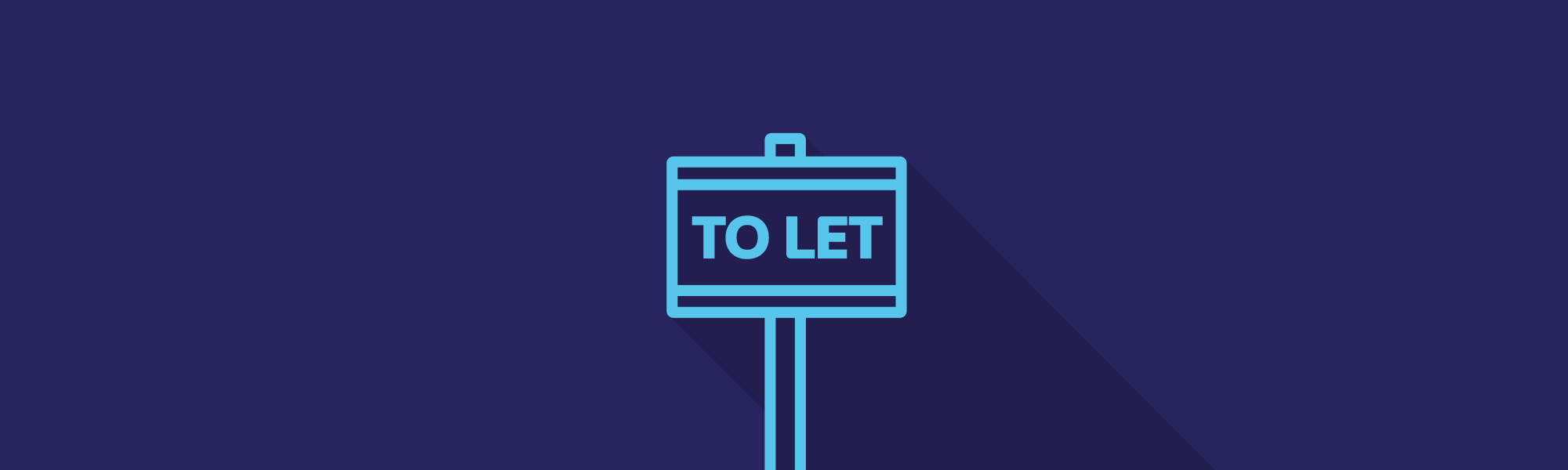 Full width banner letting agents
