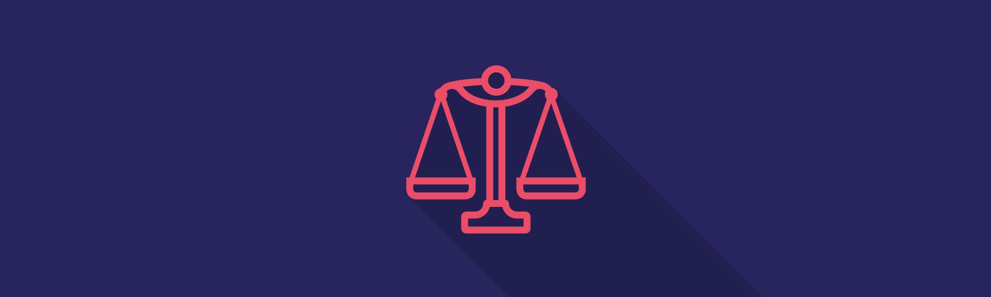 Full width banner legal