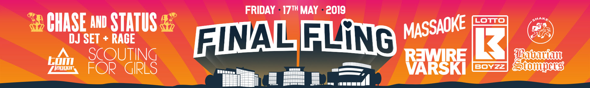 Final fling 2019 lineup web banner