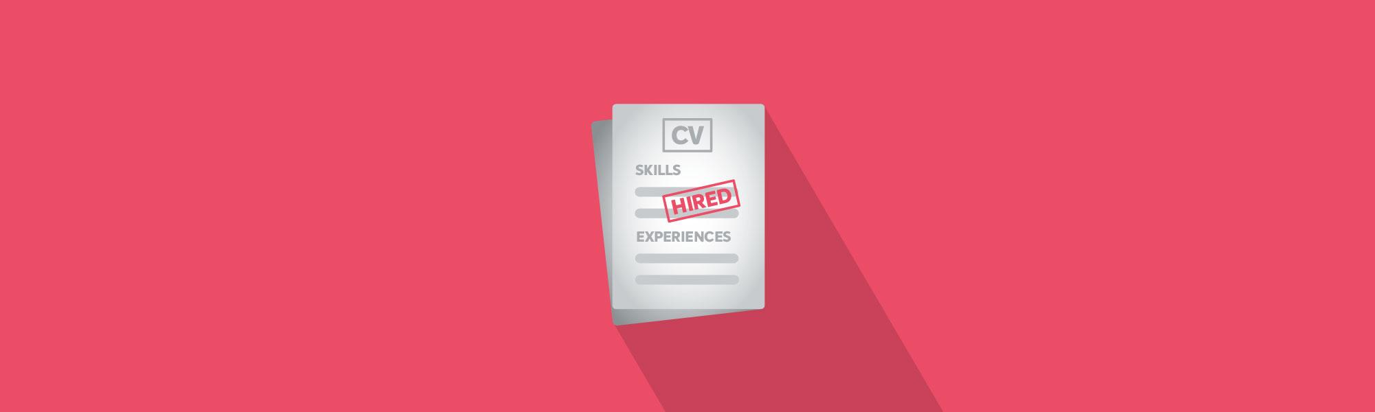 Full width banner employability