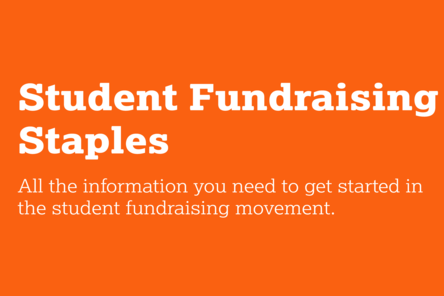 Student fundraising staples
