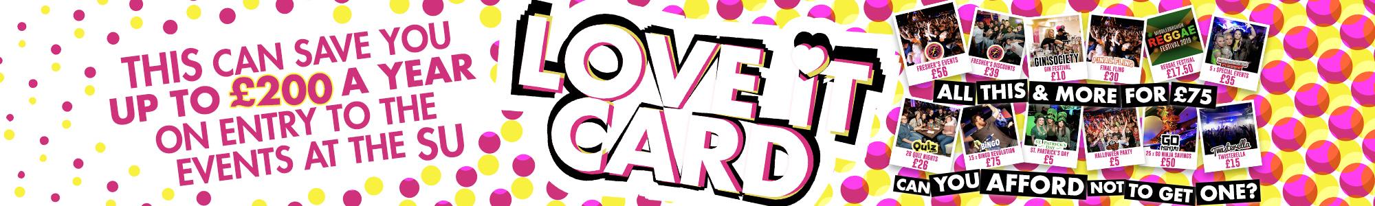 Love it card web banner