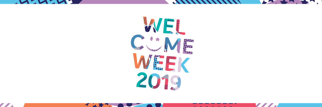 Main web banner welcome week 2019