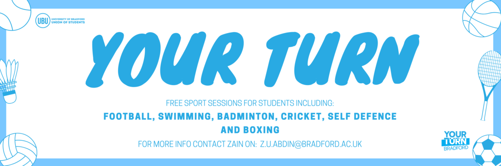 Your turn banner ubu
