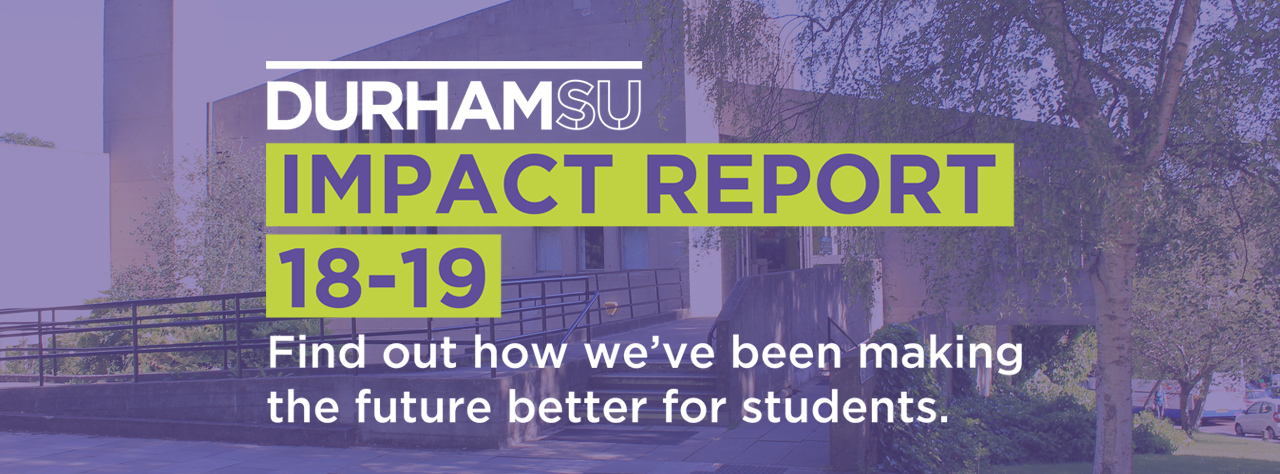 Impact report homepage